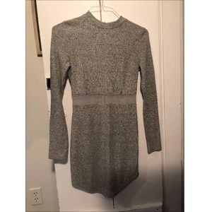 LF Bodycon Dress with Mesh Detail